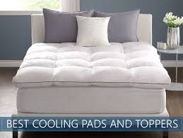 bed pillow toppers top 7 picks best cooling mattress toppers pad reviews 2018