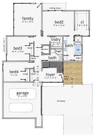 modern 1 story house plans floor plan story floor plans modern house