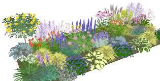 Cottage Garden Layout Amazing Border Garden Plans Cottage Garden Ideas On Pinterest