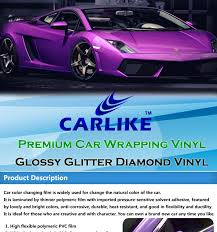 car wrapping paper carlike glossy glitter blue vinyl car wrap roll paper buy