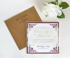 pink orchid invitations invitations germantown md weddingwire