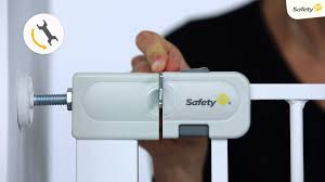 Baby Stair Gates How To Install Safety 1st Easy Close Baby Gate Youtube