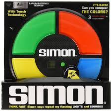 amazon com simon electronic memory game toys u0026 games