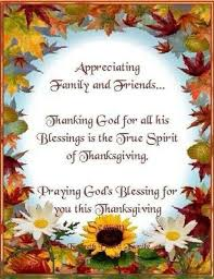 blessings fall blessings thanksgiving and happy