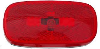 side marker light lens kaper ii 4 x 2 red marker light lens l04 0059r lens