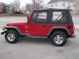 jeep matte red larry allen motor car company inc