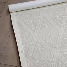 Hand Printed Wallpaper by Gem Hand Printed Wallpaper Beige U2013 Liefalmont