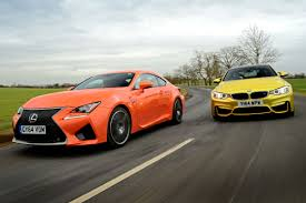 lexus vs acura yahoo lexus rc f vs bmw m4 auto express