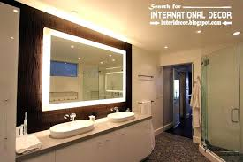 Lighting Ideas For Bathrooms Led Bathroom Lighting Ideas Northlight Co