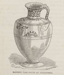 Vase Drawing Earthen Vase Found At Alexandria