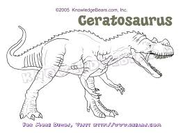 perfect carnotaurus coloring pages according awesome article