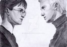 harry potter and draco malfoy by ronni sky on deviantart