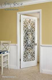Decorative Glass Doors Interior Renaissance Positive Interior Etched Glass Doors Etched Glass