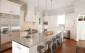 countertop for kitchen island how to choose a metal countertop for your kitchen