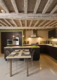 cuisine avec table cuisine avec îlot central 43 idées inspirations cuisine