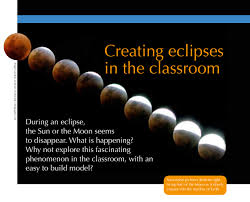 creating eclipses in the classroom activities unawe