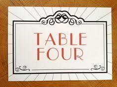menu art deco old hollywood glam black red wedding invitation