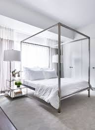 Modern Canopy Bed Frame Best 25 Modern Canopy Bed Ideas On Pinterest For