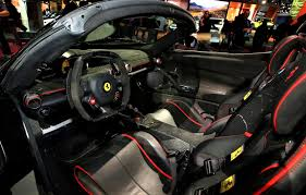 ferrari pininfarina sergio interior laferrari aperta the new dream machine from ferrari video