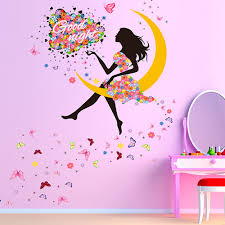 18 flower fairy wall decals wall stickers flower fairies interior flower fairy wall decals