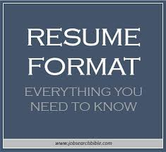 resume cv archives job search bible