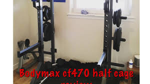 bodymax cf470 half cage review youtube