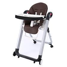 chaise haute bébé pliante smibie chaise haute bébé pliante 4 en 1 chaise multi usage chocolat