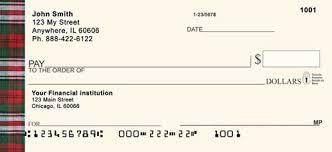 plaid personal checks