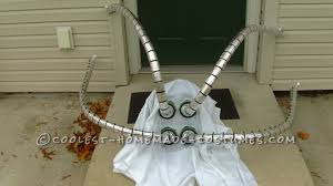 doctor octopus halloween costume coolest homemade spiderman and villains costumes