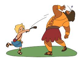 david and goliath for kids u2014 david dror