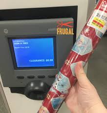 clearance christmas wrapping paper christmas wrapping paper 90 at kohl s frugal finds during
