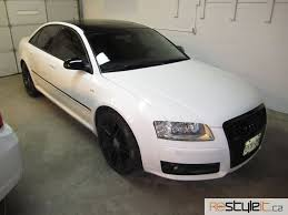 audi s8 matte black audi s8 vehicle customization shop vinyl car wrap car wrap