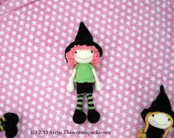 amigurumi witch pattern 3 witches crochet pattern now available as pdf sayjai amigurumi