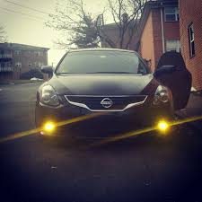 nissan altima yellow engine light yellow lens fog lights hid nissan forum nissan forums