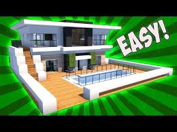 Small House Minecraft Best 25 Modern Minecraft Houses Ideas On Pinterest Maisons