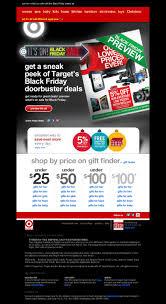 target black friday online ordering black friday black friday communication via email marketing newsletter