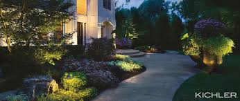 Kichler Landscape Lights Think Outside The Box The Secret To Outdoor Lighting Design
