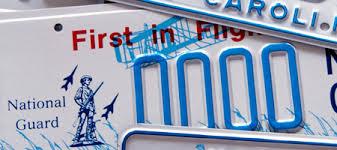 Vanity Playes Ncdot License Plates