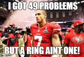 Packers 49ers Meme - 49ers meme 49 problems but a ring ain t one fantasy futures