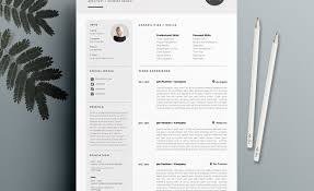 resume template free resume references