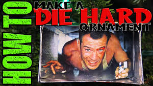 how to make a die hard christmas ornament daddy daughter diy
