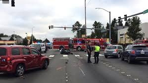 motorcyclist killed in crash at kent intersection komo