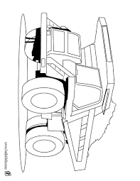 heavy dump truck coloring pages hellokids com
