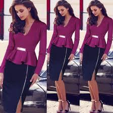 elegant color block dresses women online elegant color block