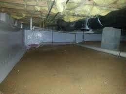 clean space vapor barrier covers crawl space walls