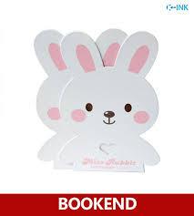 bunny bookends metal rabbit bookends bunny animal desk book organizer
