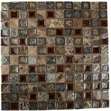 Glass Tile Backsplash Home Depot Manificent Modest Interior Home - Home depot tile backsplash
