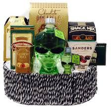 send liquor gifts baskets johnnie walker black label