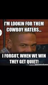 Cowboys Haters Memes - cowboys haters dallas cowboys baby pinterest cowboys