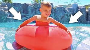 Challenge Water Balloon Toddler Trapped In World Largest Water Balloon Challenge